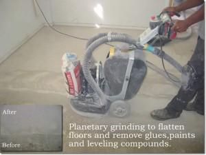 Preparation Diamond Grinding